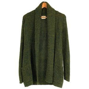 Pins & Needles Grandpa Open Front Cardigan Wool
